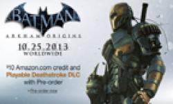 Batman Arkham Origins 19 05 2013 bonus Deathstroke head