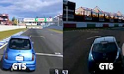 Comparaison Gran Turismo 5 et 6 logo vignette 17.07.2013.