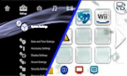 Comparaison Wii U PS3 menu logo vignette 01.04.2013.
