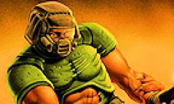 Doom logo vignette