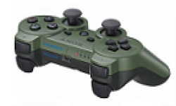 dualshock 3 ds 3 manette green jungle vignette