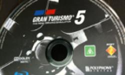 Gran Turismo 5 GT5 galette disque head