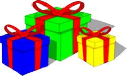 image clipart cadeaux noel