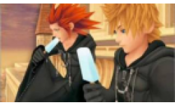kingdom hearts hd remix doublage localisation roxas screenshot capture jesse mc cartney studio head vignette