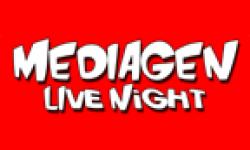 mediagen live night logo