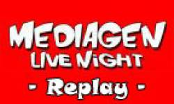 MEDIAGEN live night replay logo full 2