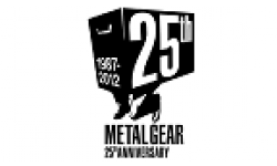 Metal Gear 25th Anniversary logo head