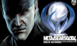 Metal Gear Solid 4 trophees logo vignette 08.08.2012