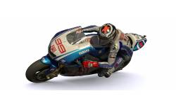 Moto GP Lorenzo Action