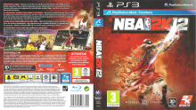 NBA 2K12  jaquette full cover