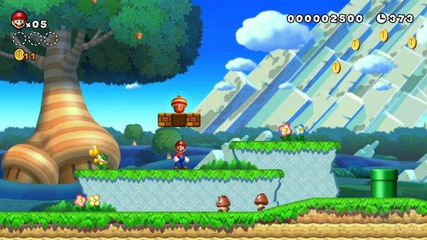 New Super Mario Bros U Screen 2