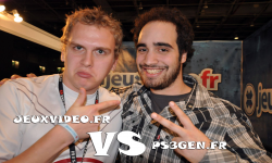 Paris game week tournoi PES 2011 jeuxvideo.fr contre PS3GEN.fr 100