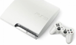 PlayStation 3 PS3 Slim Blanche White head 1