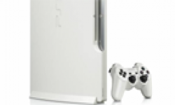 PlayStation 3 PS3 Slim Blanche White head 2