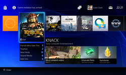 PlayStation 4 PS4 22 02 2013 menu Store