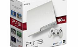 PS3 Slim Blanche Japon Sortie logo