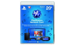 psn card carte 20 euros 13.2.2013.