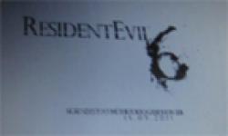 Resident Evil 6 23 07 2011 Comic Con logo head