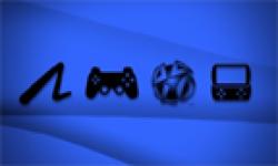 Sony PlayStation logos head
