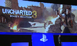 Uncharted 3 illusion de Drake PS3 Gamescom logo
