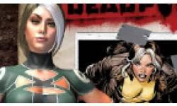 Vignette head Deadpool Rogue