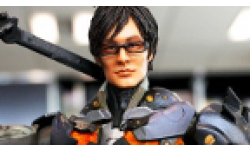 Vignette head Hideo Kojima figurine ninja cyborg konami square enix
