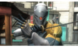 Vignette head Metal Gear Rising Gray Fox