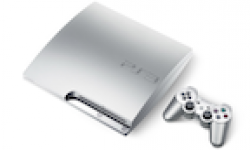 Vignette Icone Head PlayStation 3 Console Satin Silver Argent 01022011