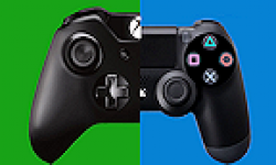 Xbox One PlayStation PS4 VS Versus logo vignette 13.06.2013.