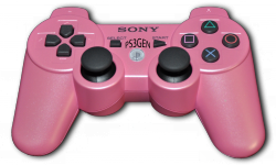 Dualshock 3 rose PS3 Sony vignette