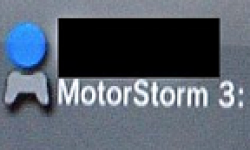 Motorstorm 3 Photo volée Leaked Playstation Network logo
