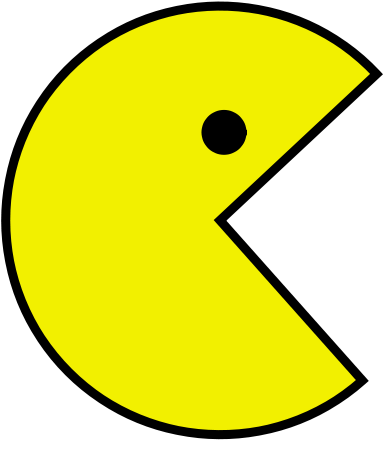 image pacman logo gamergen com. Black Bedroom Furniture Sets. Home Design Ideas