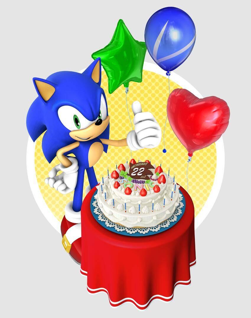 Image Sonic Anniversaire 22 Ans Gamergen Com